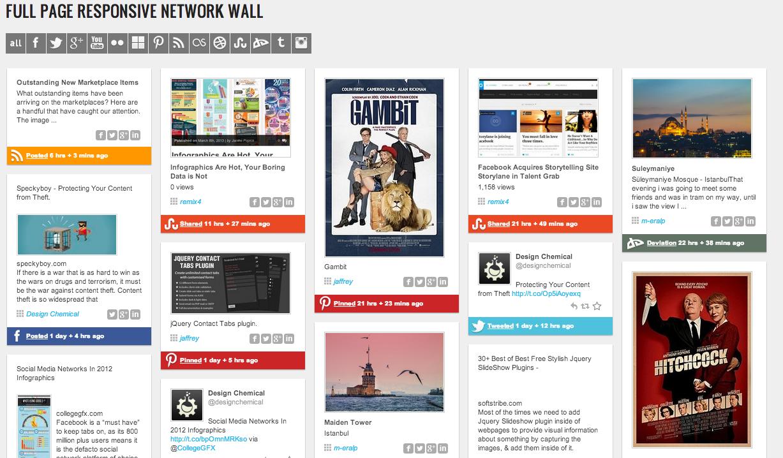 Bild des kostenpflichtigen Social Stream Plugins für WordPress